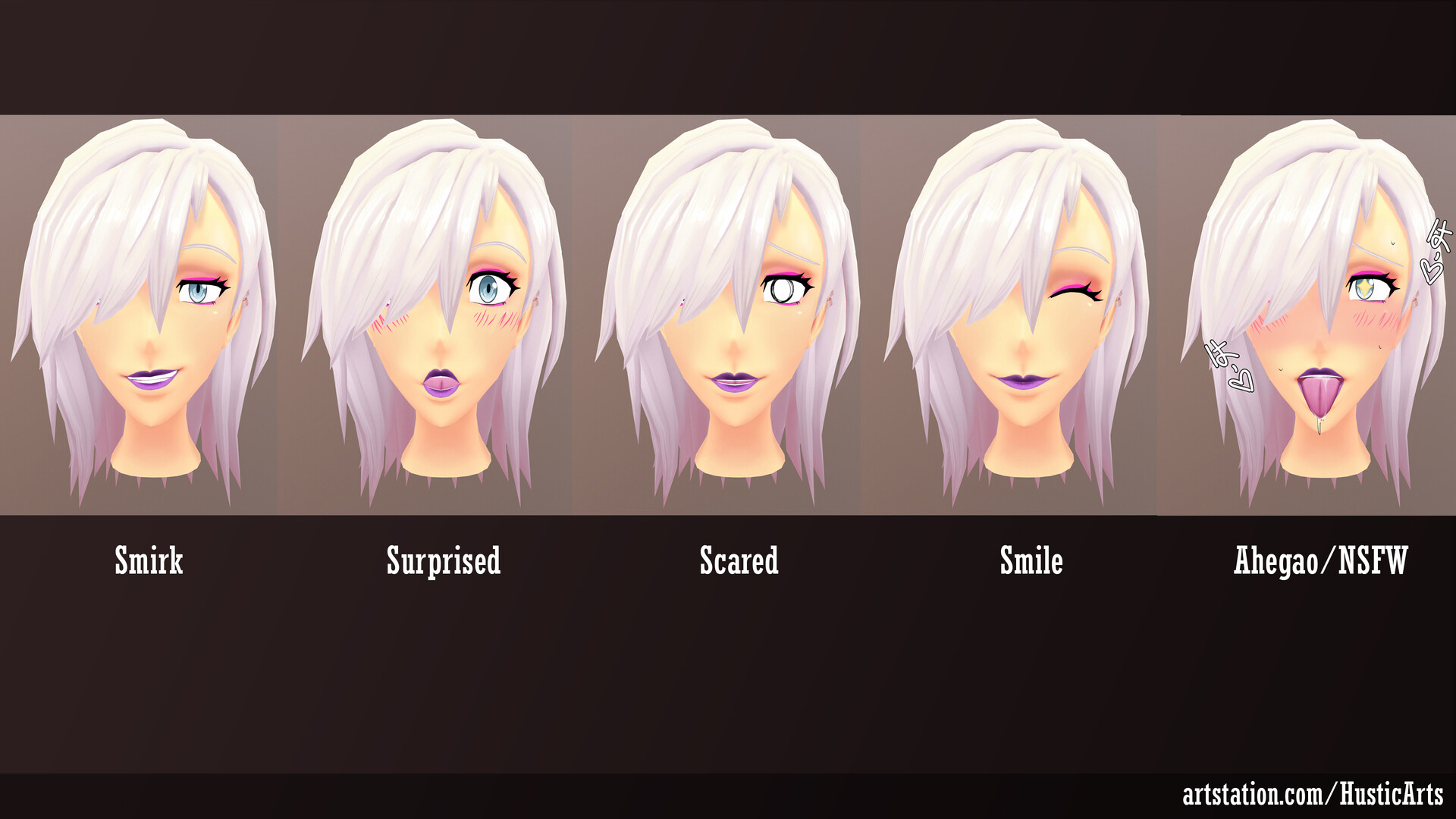 Blendshapes/Expressions