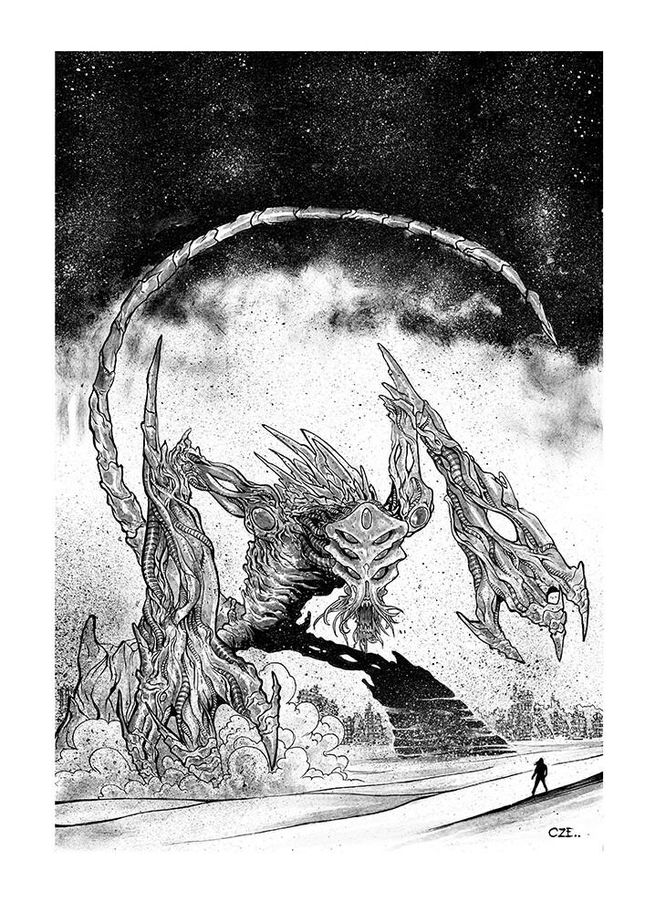 Original Art by Luis Czerniawski