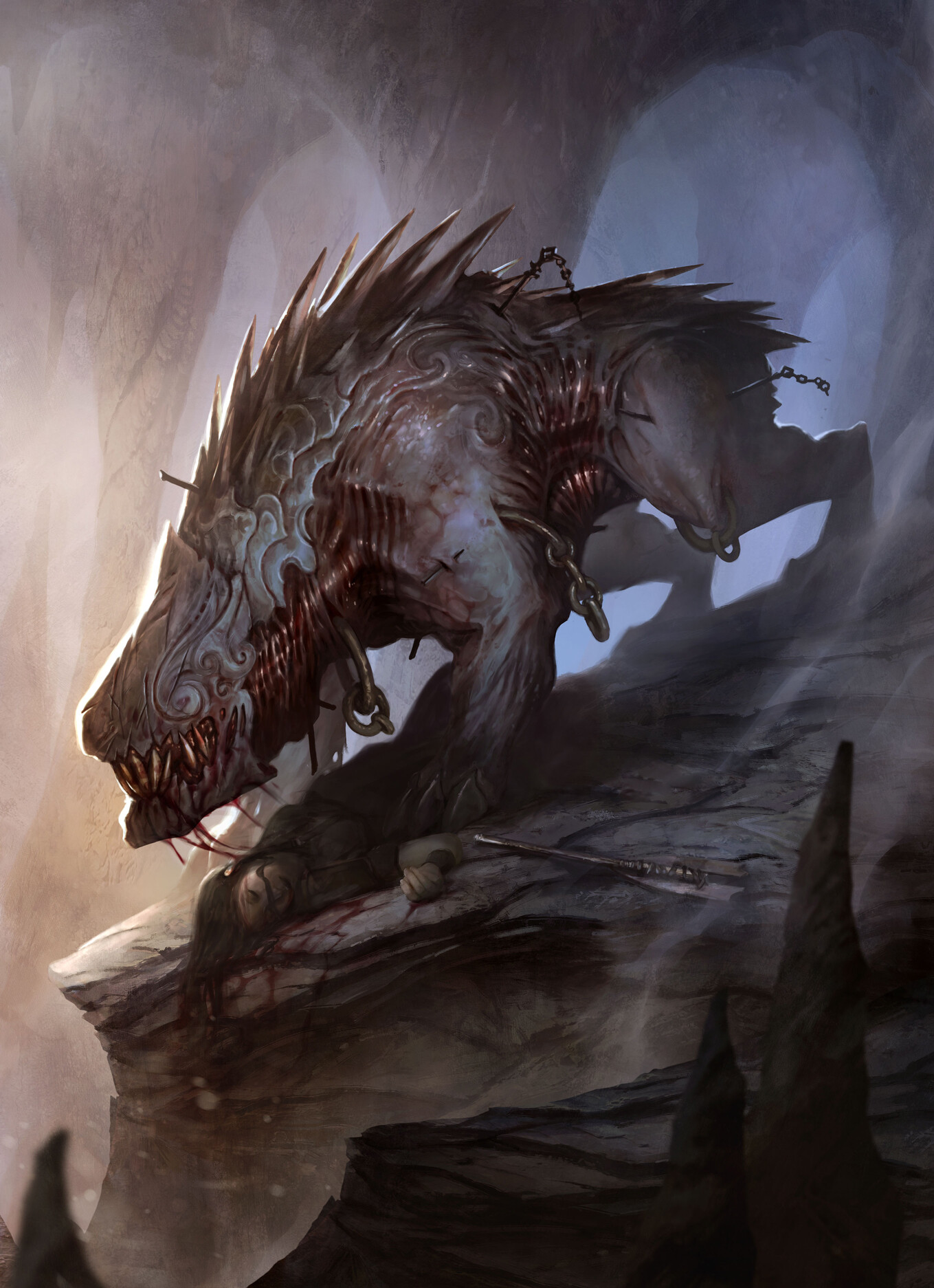 Pascal quidault claustrophobia demon cerberus