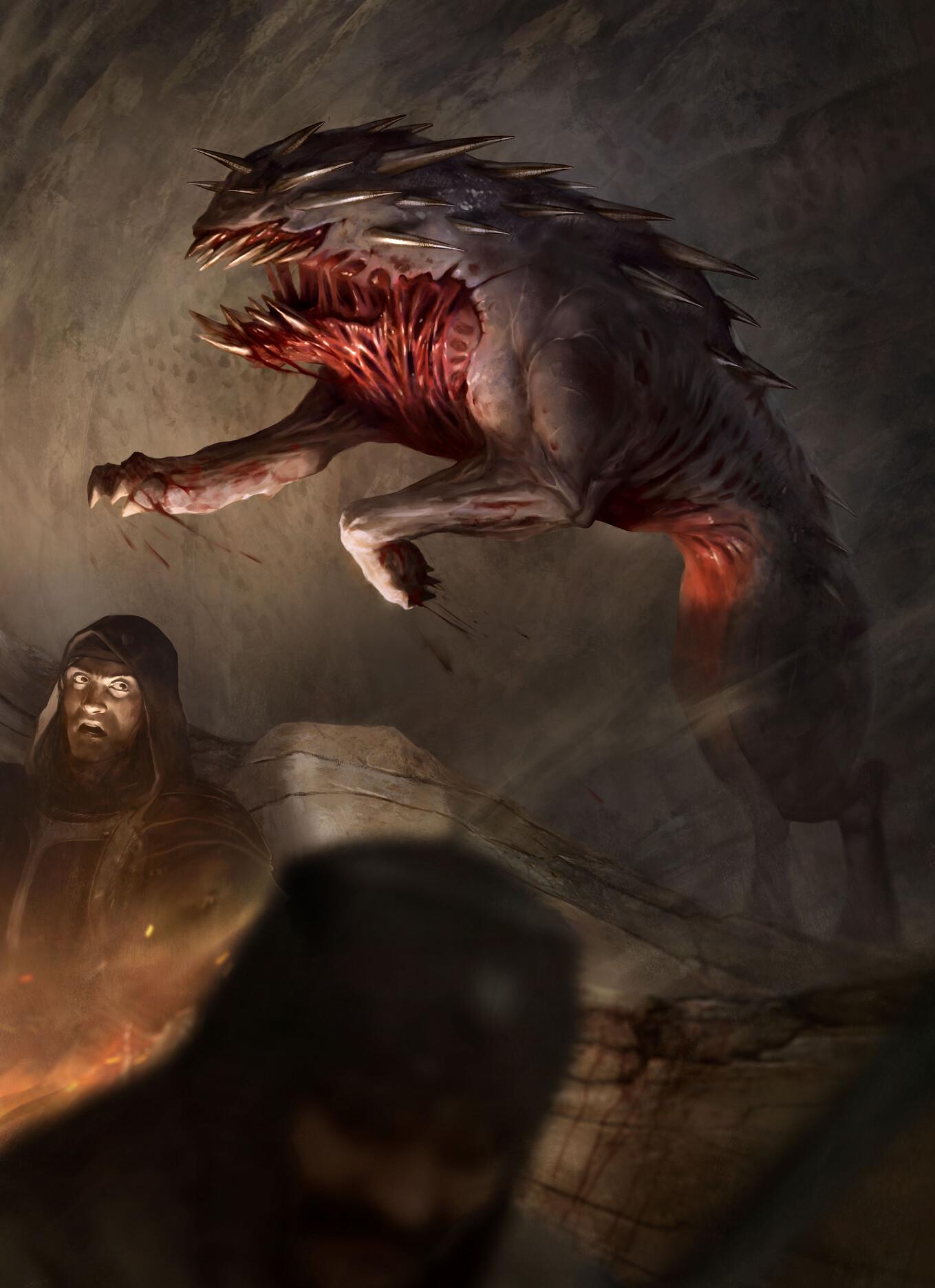 Pascal quidault claustrophobia demon molosse 01