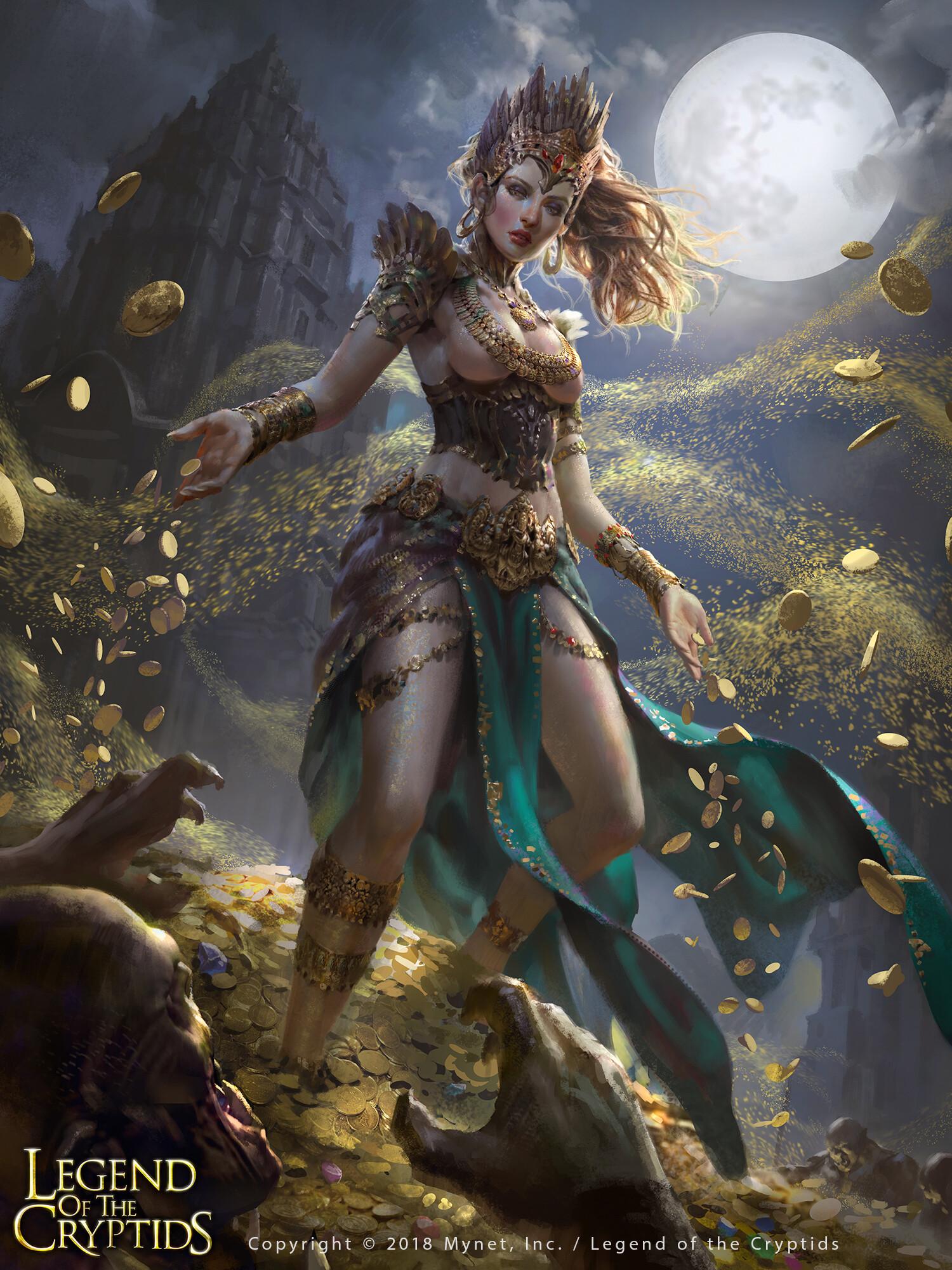 Wisnu tan gold dust goddess x uplox