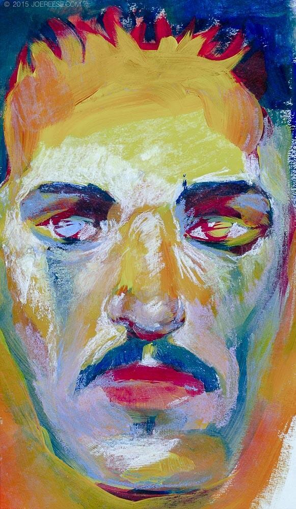 wreckless Portrait Color Study