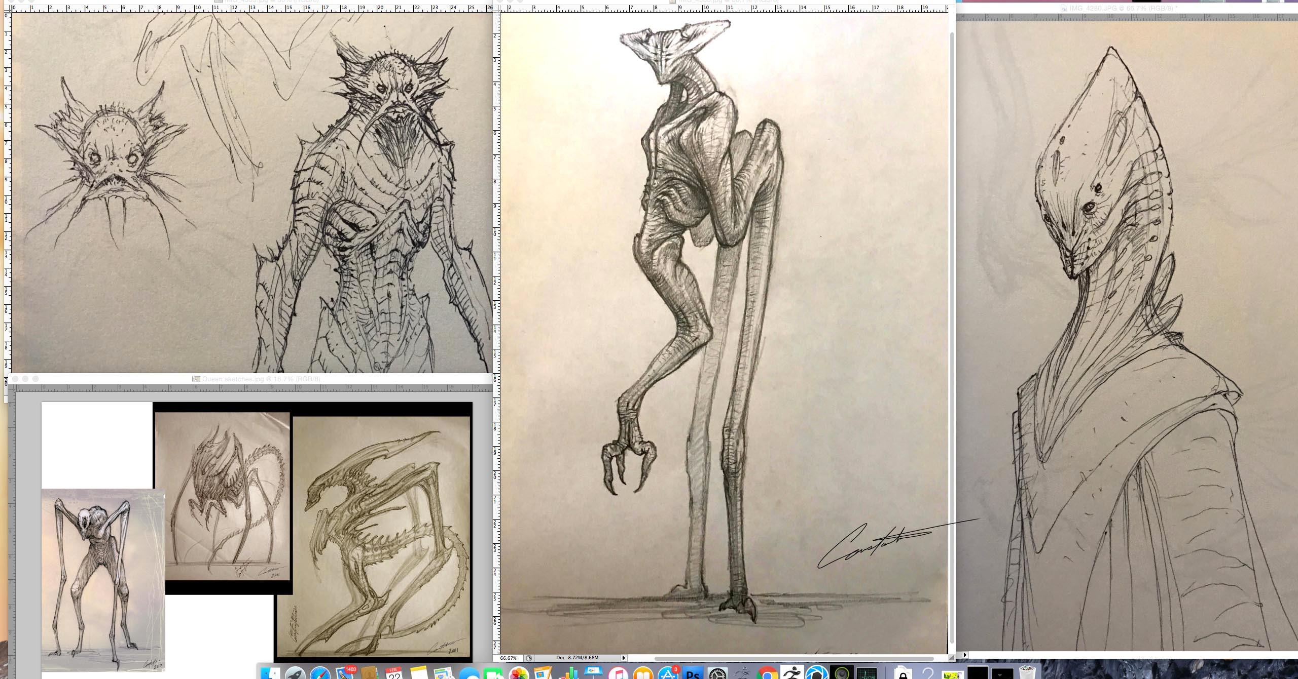 """Sketch Book 'sneak peek"""" designs"""