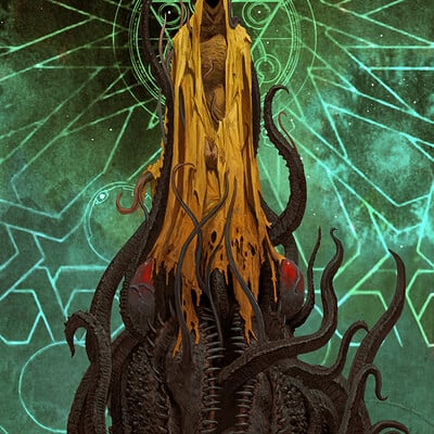 Adrian smith hastur coloured