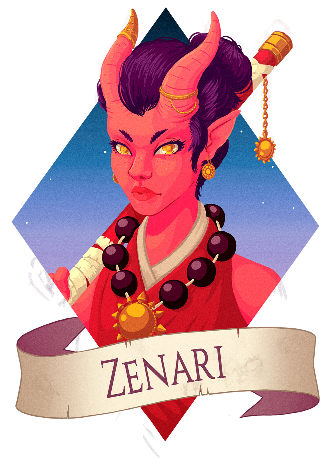 DnD Commission: Zenari