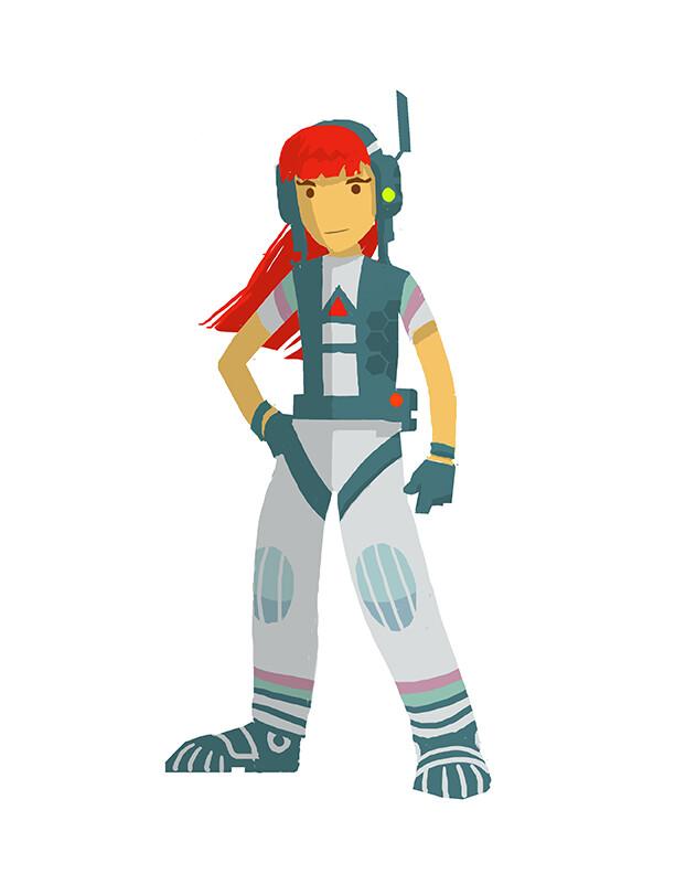 Hero Girl Design