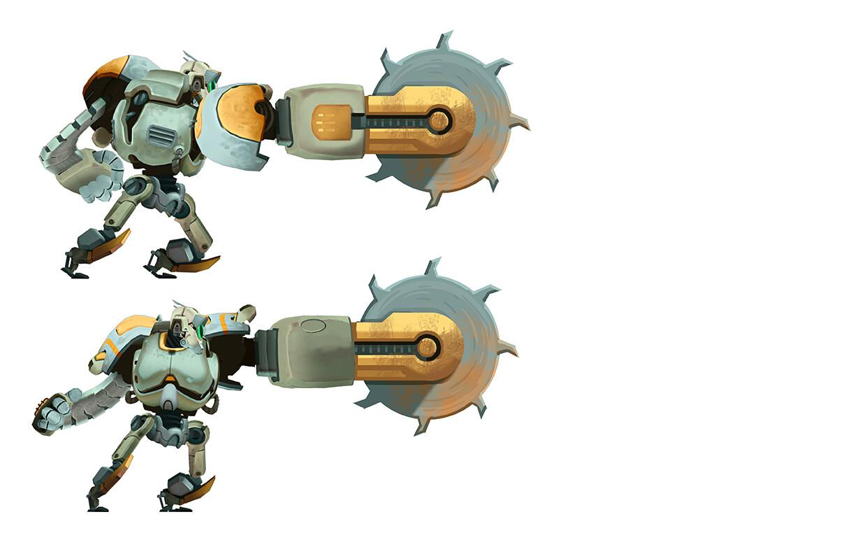 Hero Robot - Drill Attachment B