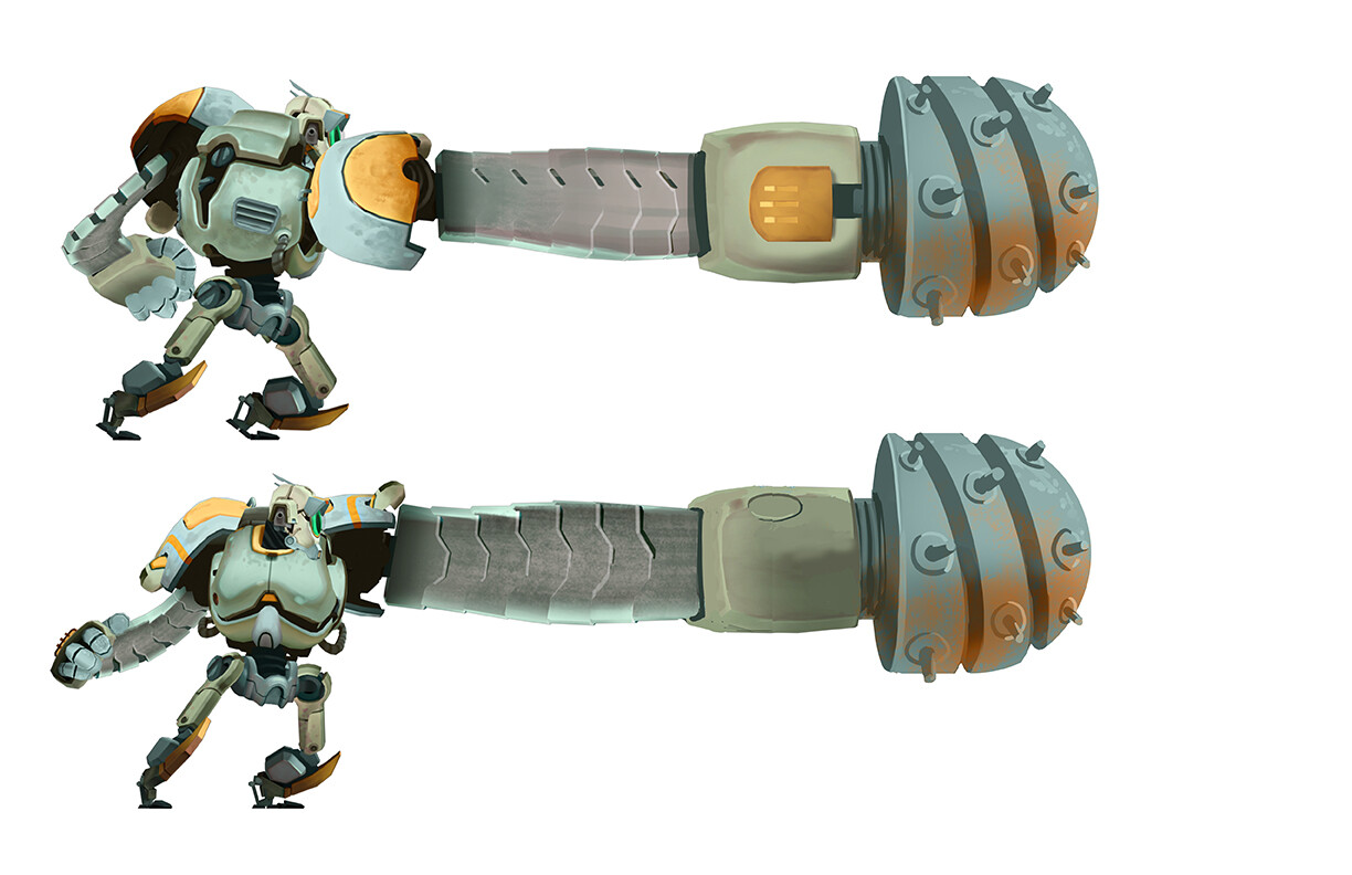Hero Robot - Drill Attachment C (extended)