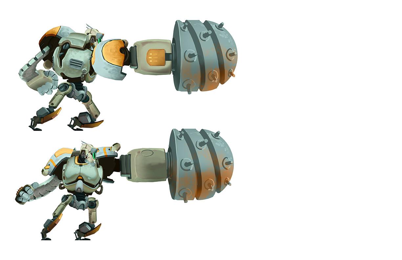 Hero Robot - Drill Attachment C