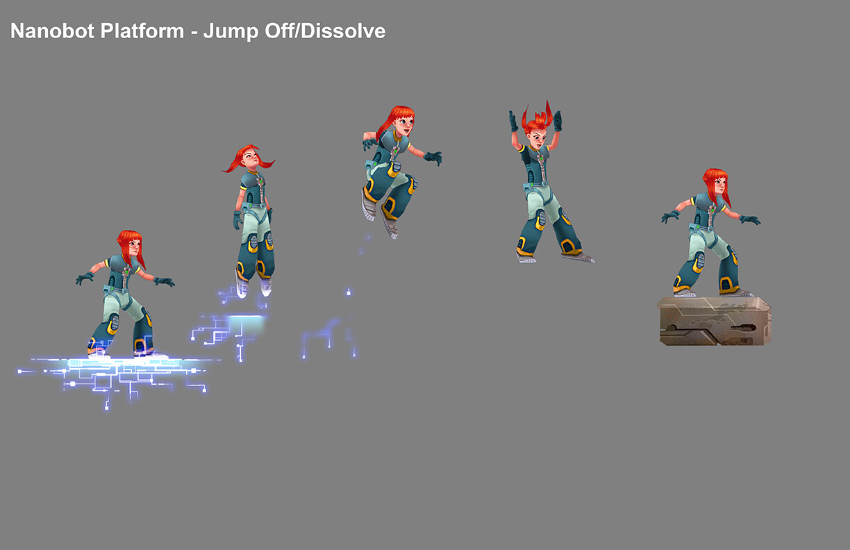 Hero Girl - Nanobot Platform Ability