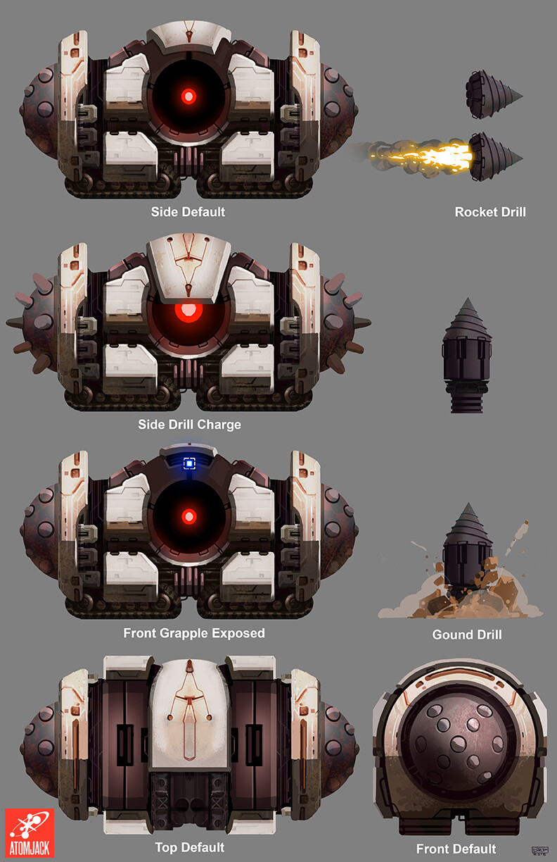 AI Drill Boss - Model Sheet