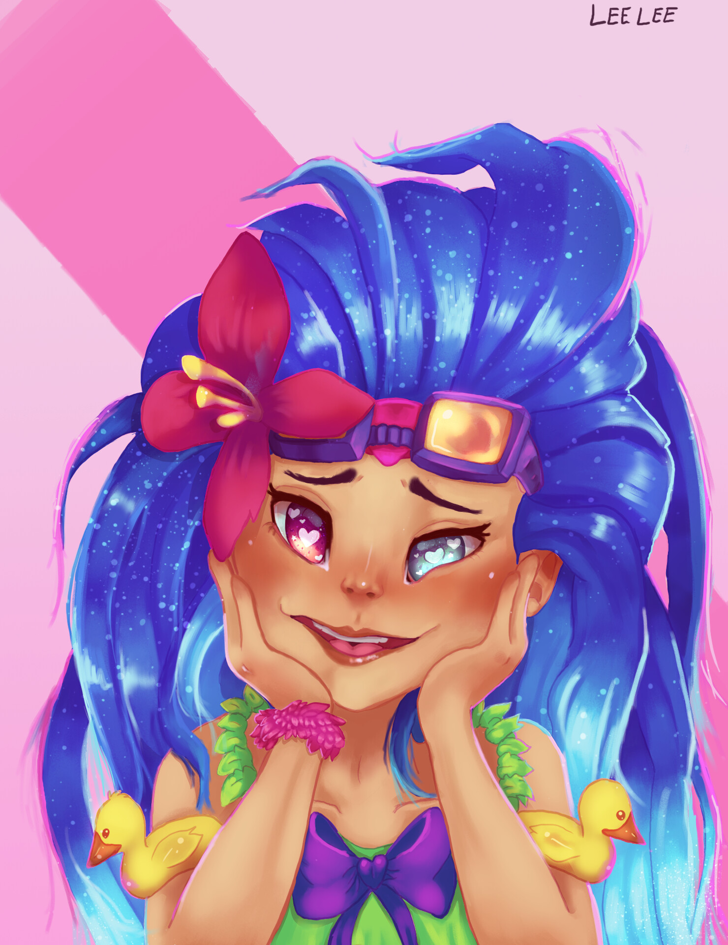 ArtStation - LoL Zoe - Dreeeeaammy~!, Aaliyah Johnson