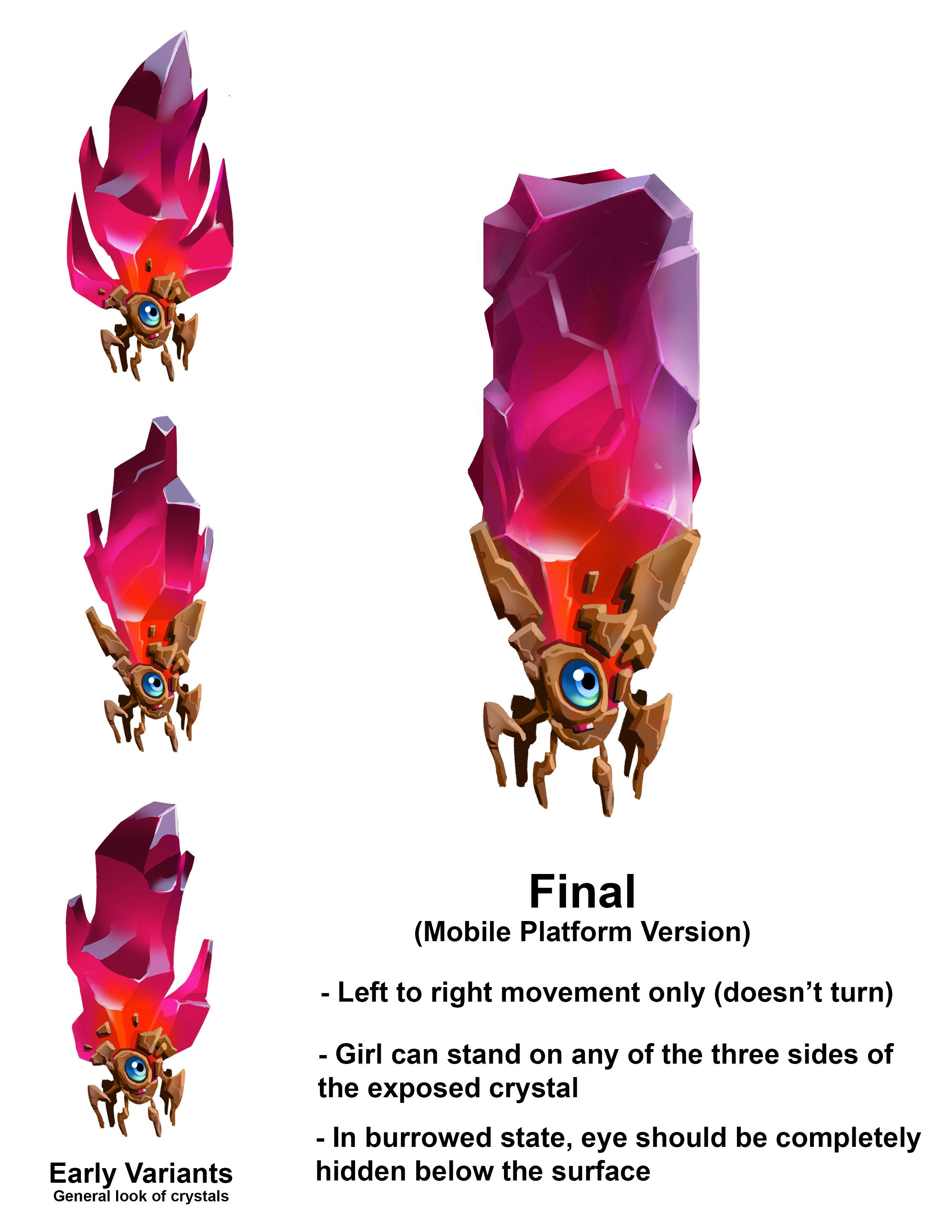 Crystal Fauna Platform Designs