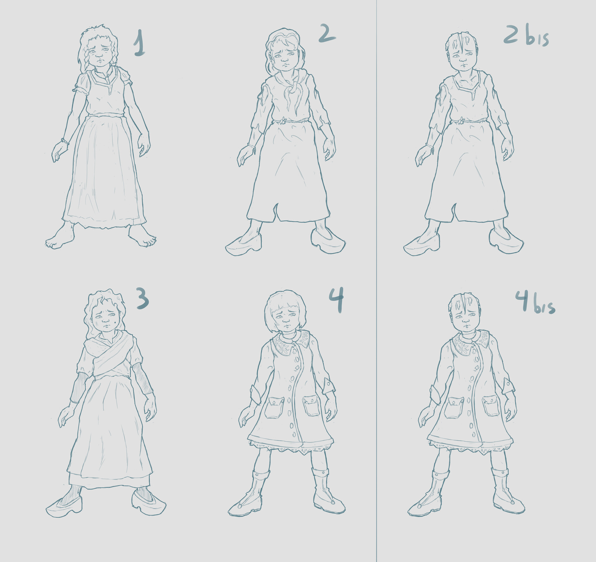 Girl Sketeches