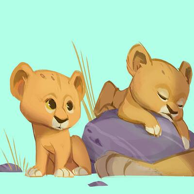 Kun vic skect new lion color 5