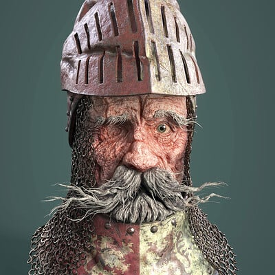 Dirk wachsmuth 18 attribute damaged old knight ir render v2