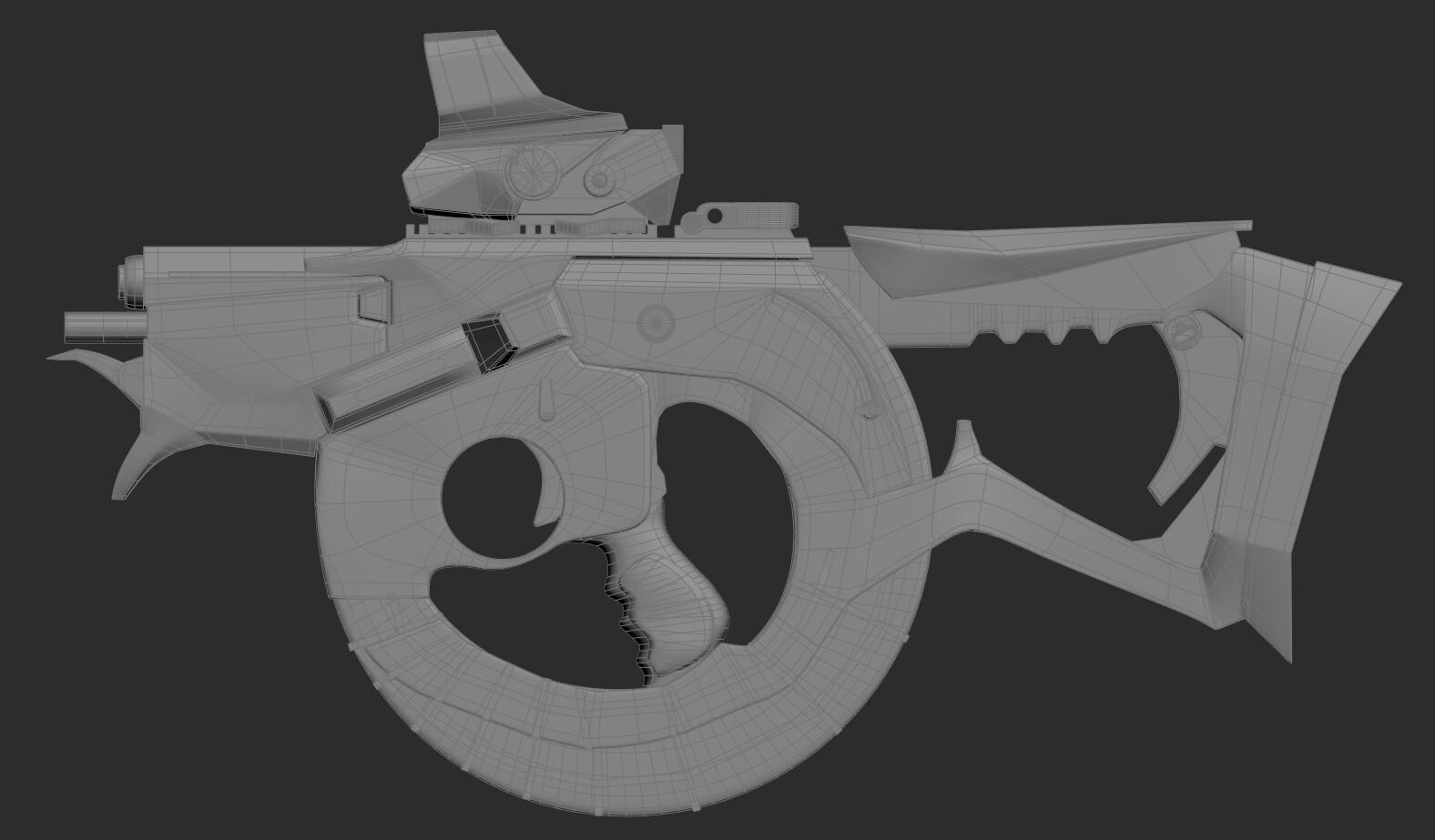 Dalton barnes gun