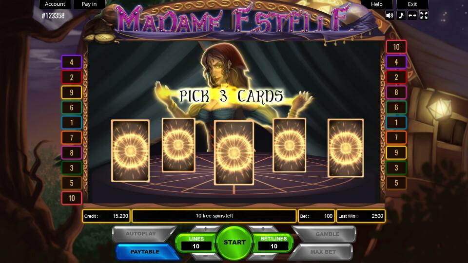 Madame Estelle  - Bonus Mock-up