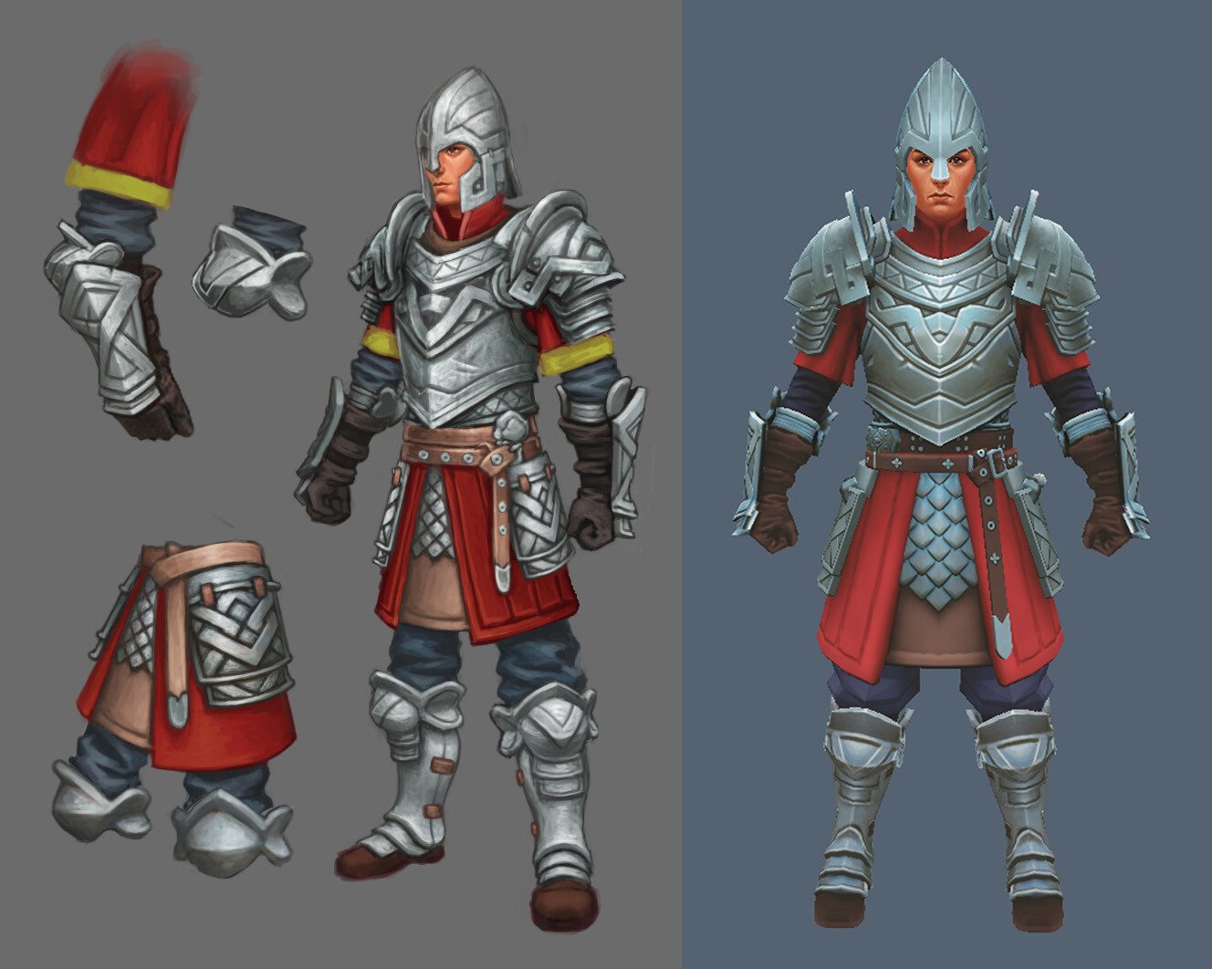 Viktor saghy warrior armour 02