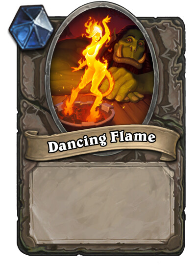The Hearthstone card dummy