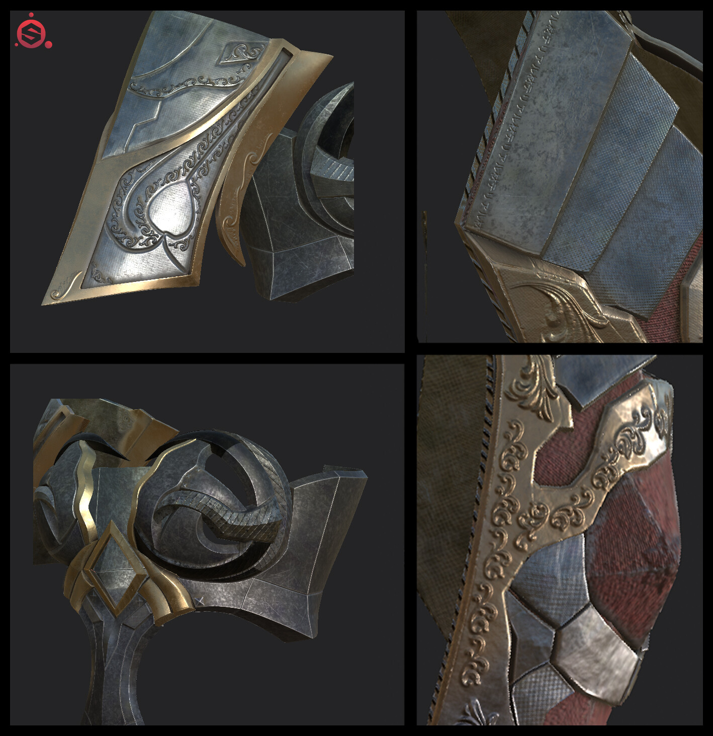 Detailing and texturing in Substance