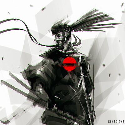 Benedick bana speedpaint wandering swordsman lores