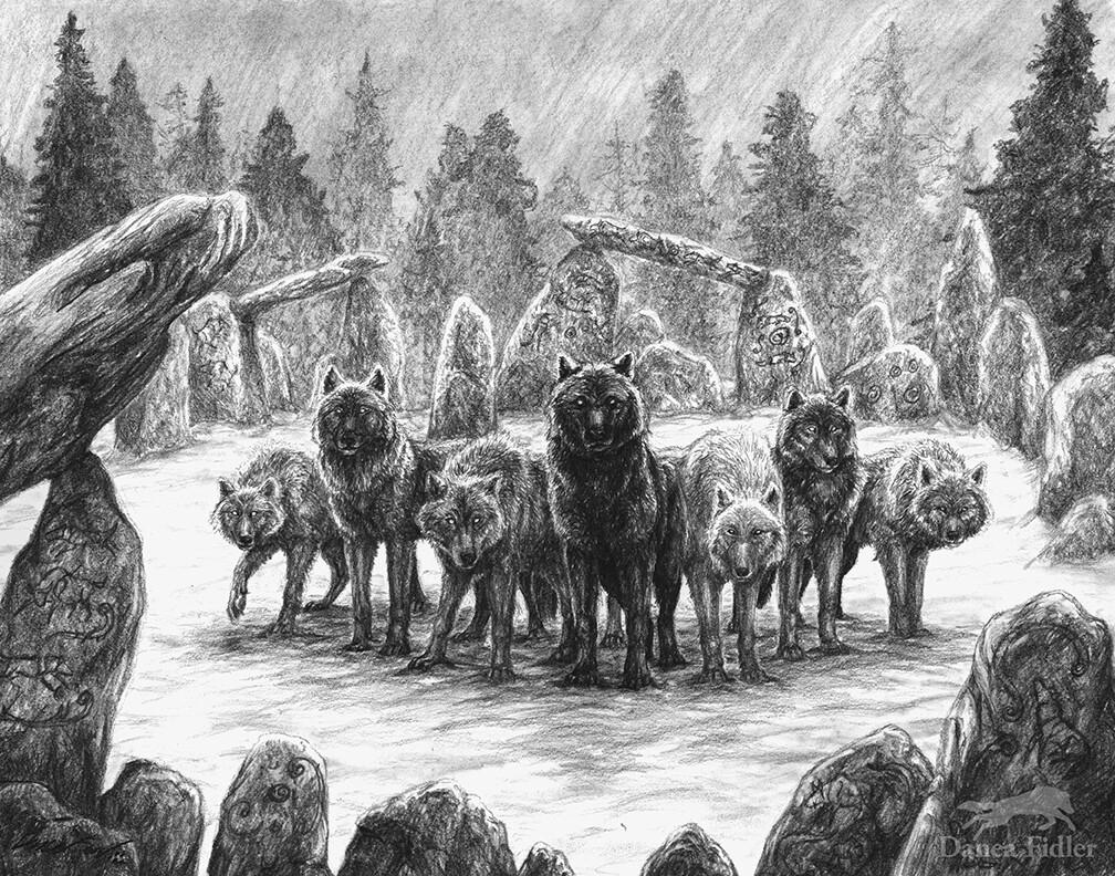 Danea Fidler - Elemental Wolf Pack