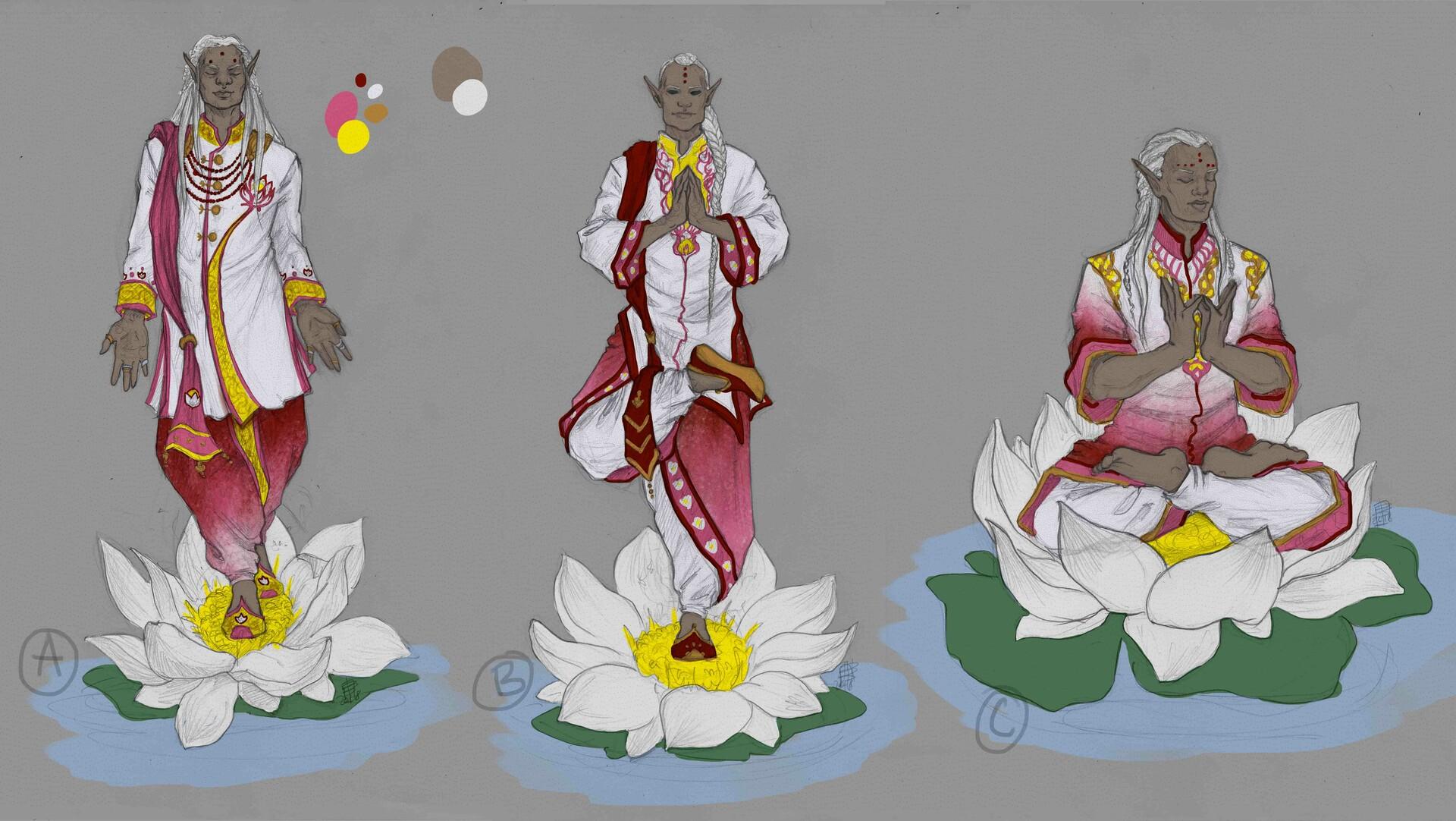 Beatrice pelagatti lotus witch wip1