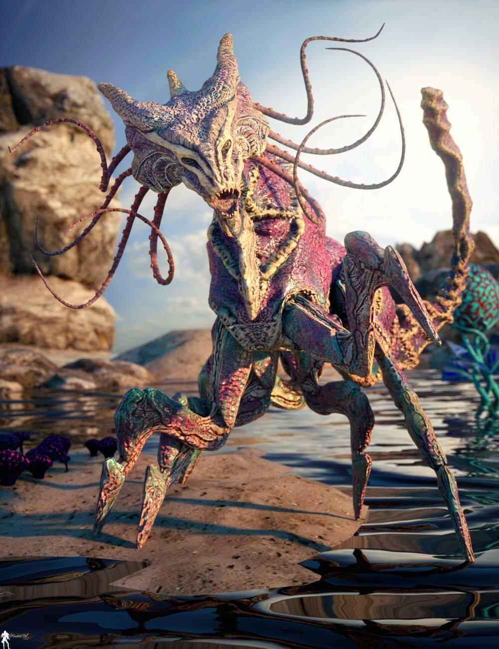 Creature by Les L. Garner Render by Antoine LaMuserie