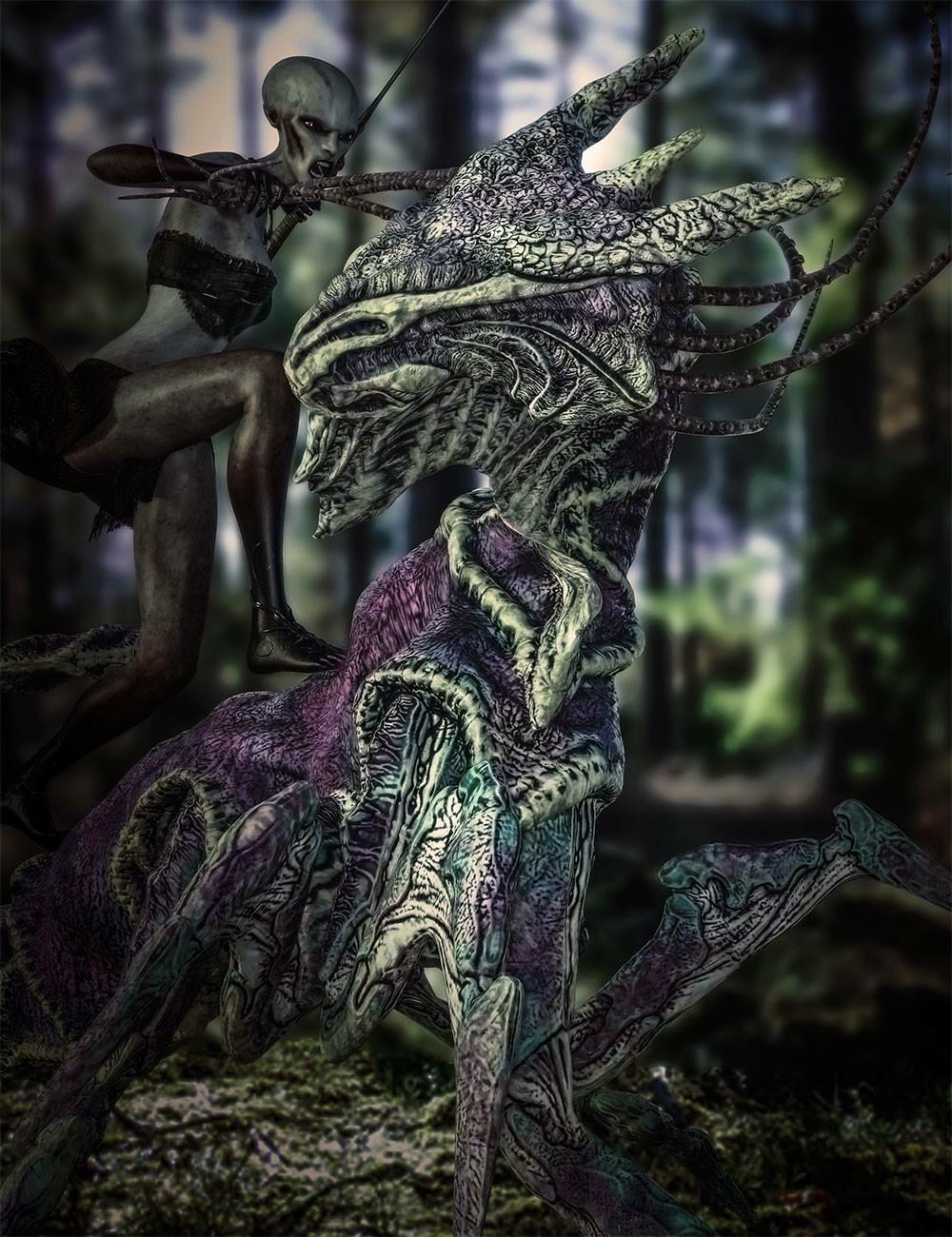 Creature by Les L. Garner Render by Lee Taylor