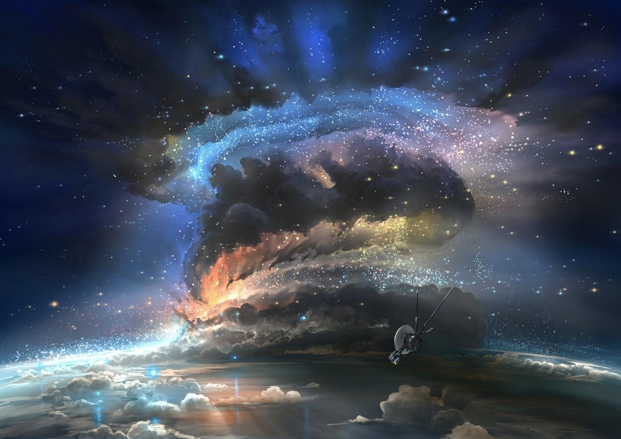 Galactical storm