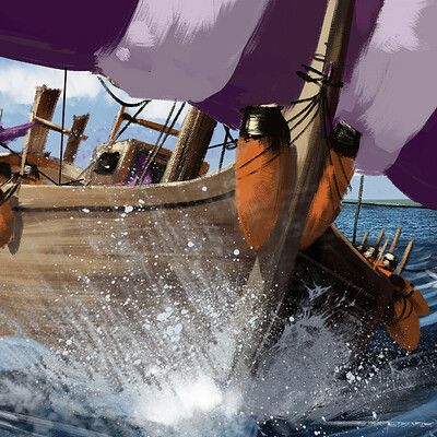 Ernesto sin phoenician boat