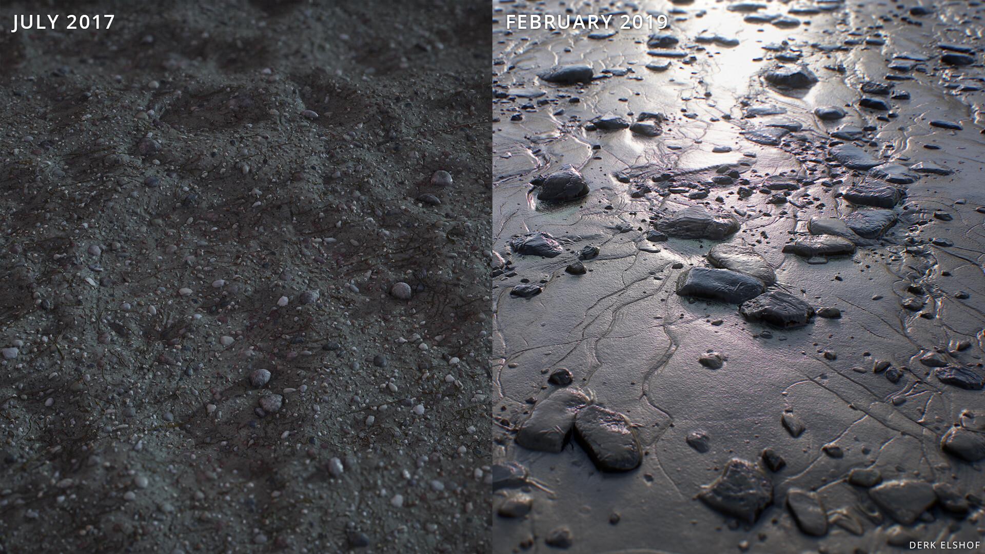 Derk elshof derkelshof beach pebbles 004