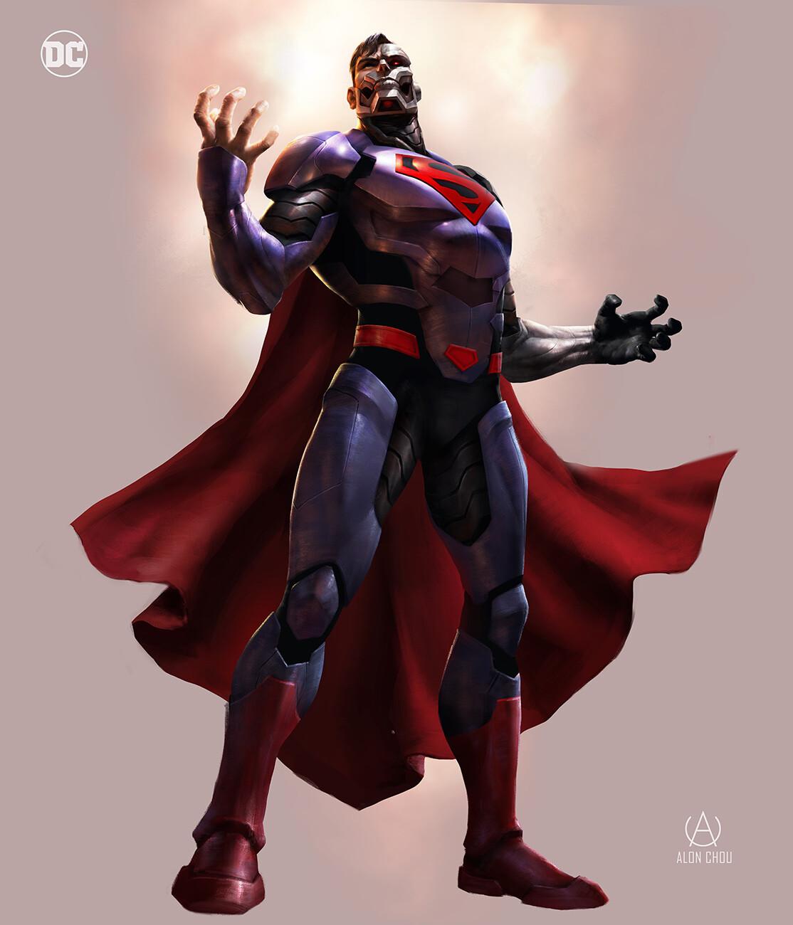 ArtStation - Reign of the Superman , Alon Chou