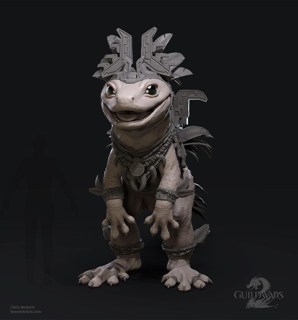 Gecko Sculpt