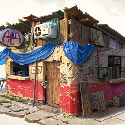 Michal kus hitman colombia house3rendered