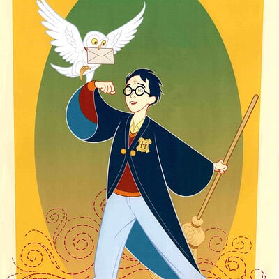 Jerome moore harry potter cartoon clean