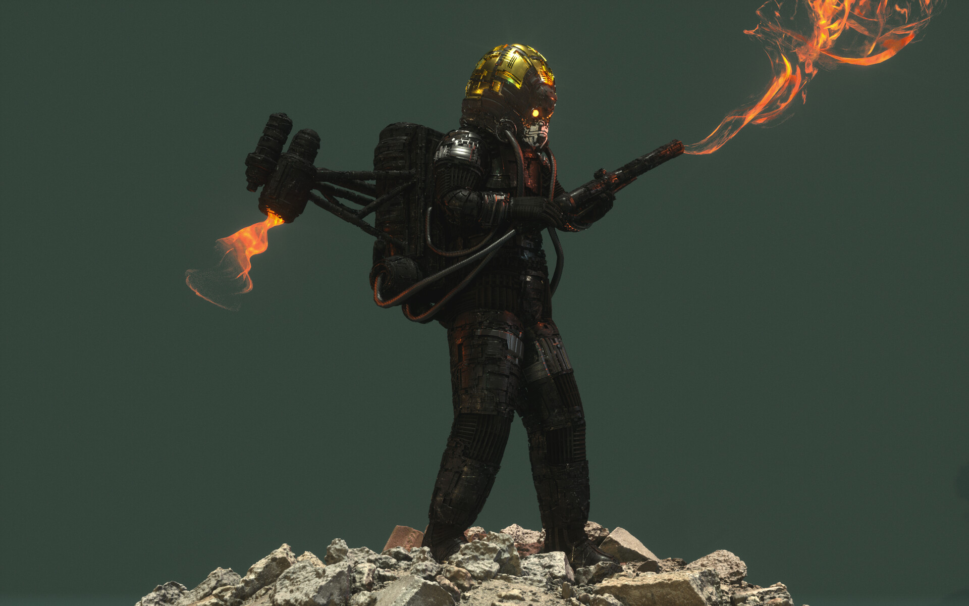 Ben nicholas bennicholas metalgear thefury 04