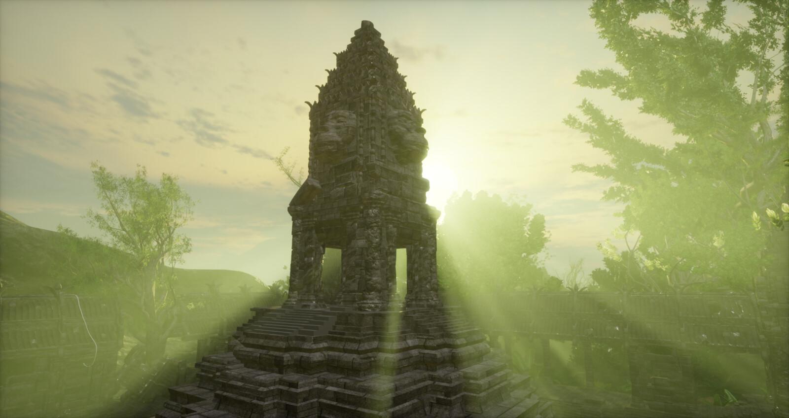 Sansar Monkey Temple