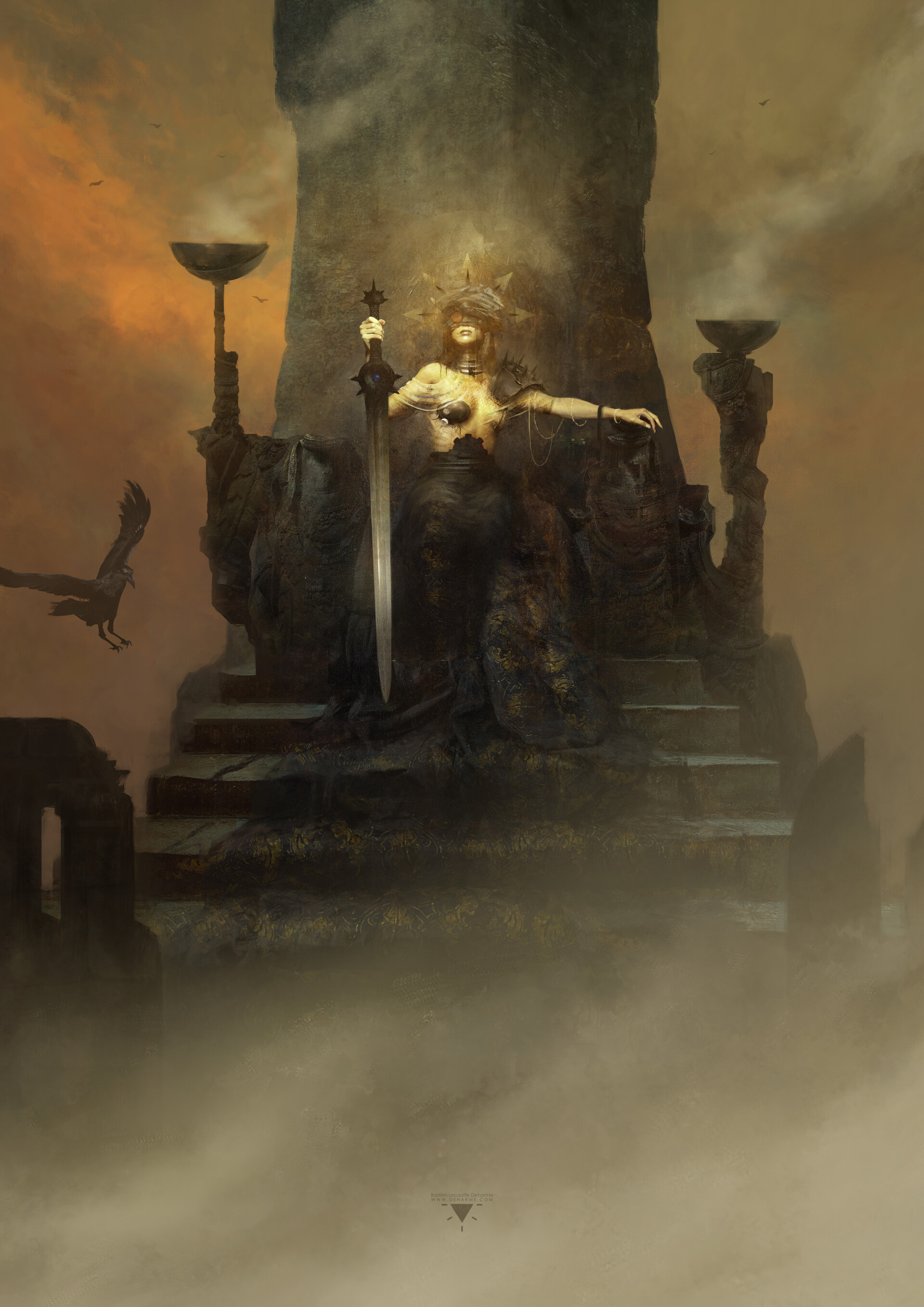 Bastien lecouffe deharme core rulebook cover art preview