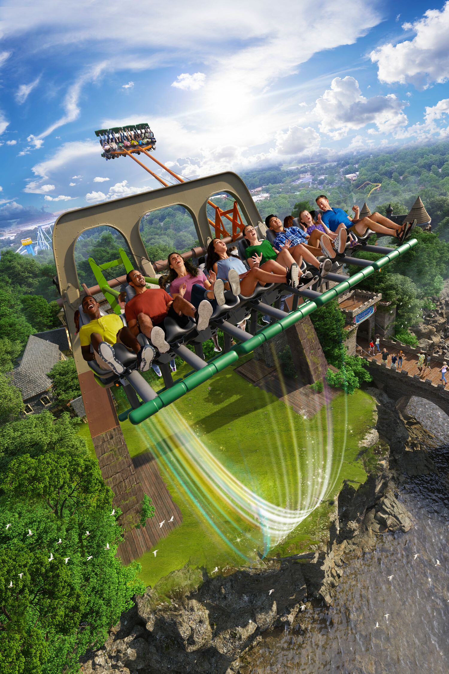 Mike heath finneganflyer buschgardens