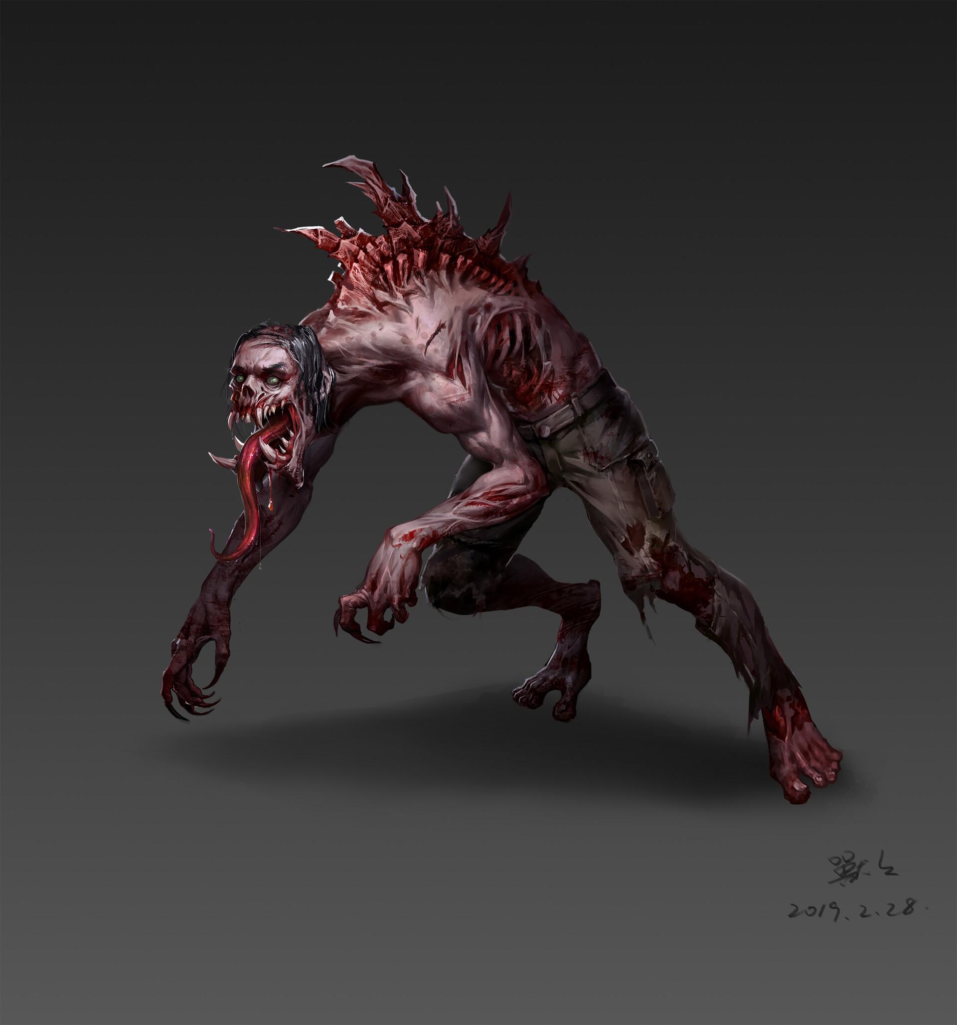 Картинки зомби и мутантов