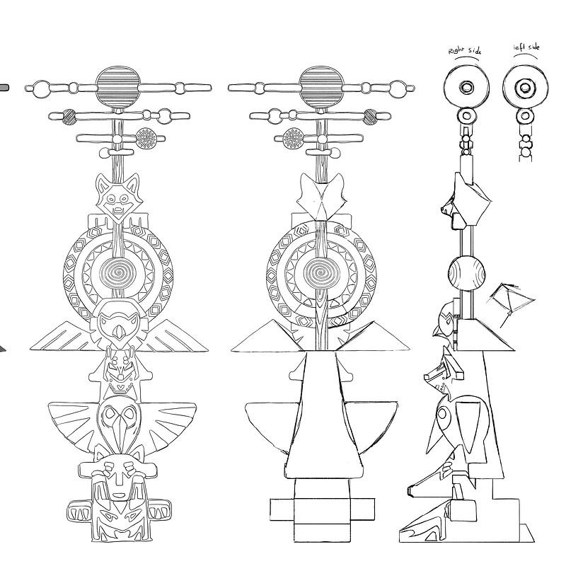[Restless] Totem turnaround - Ahote and Yutu village