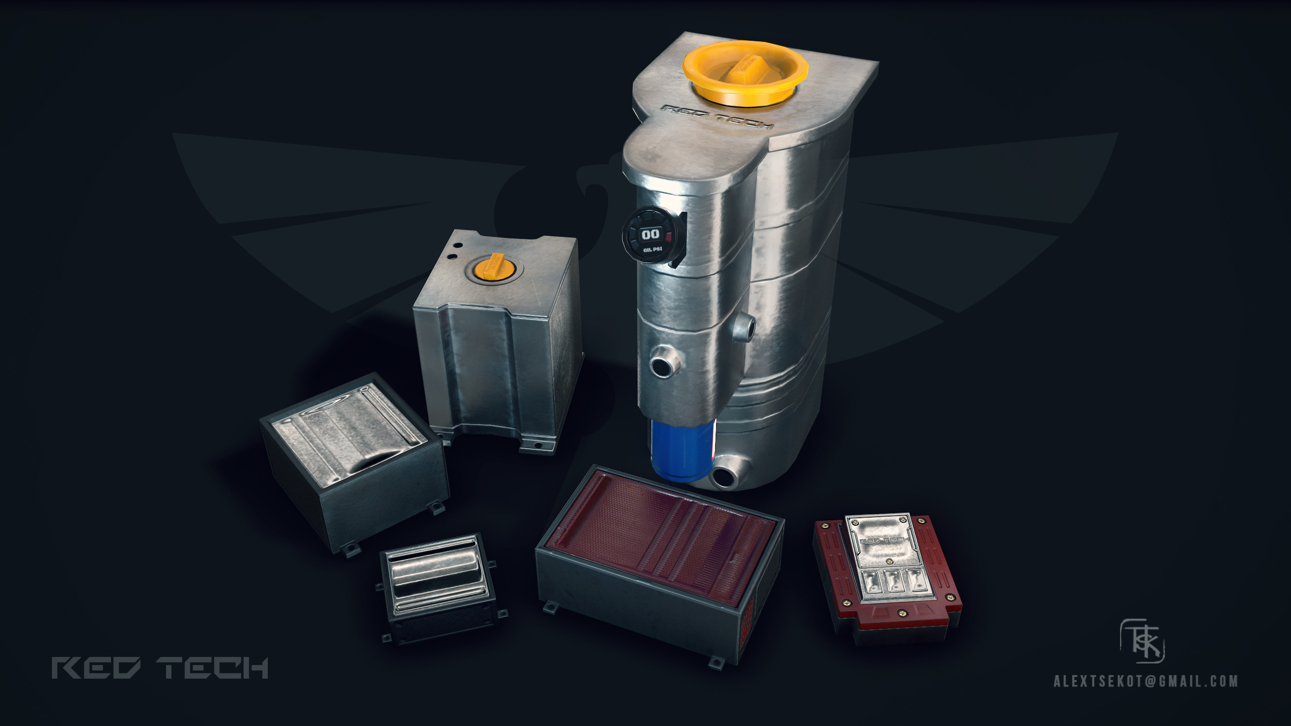 Various fluid containers and electronics accessories