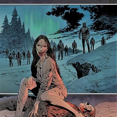 Piotr kowalski 30daysofnight4 cover sketch 2