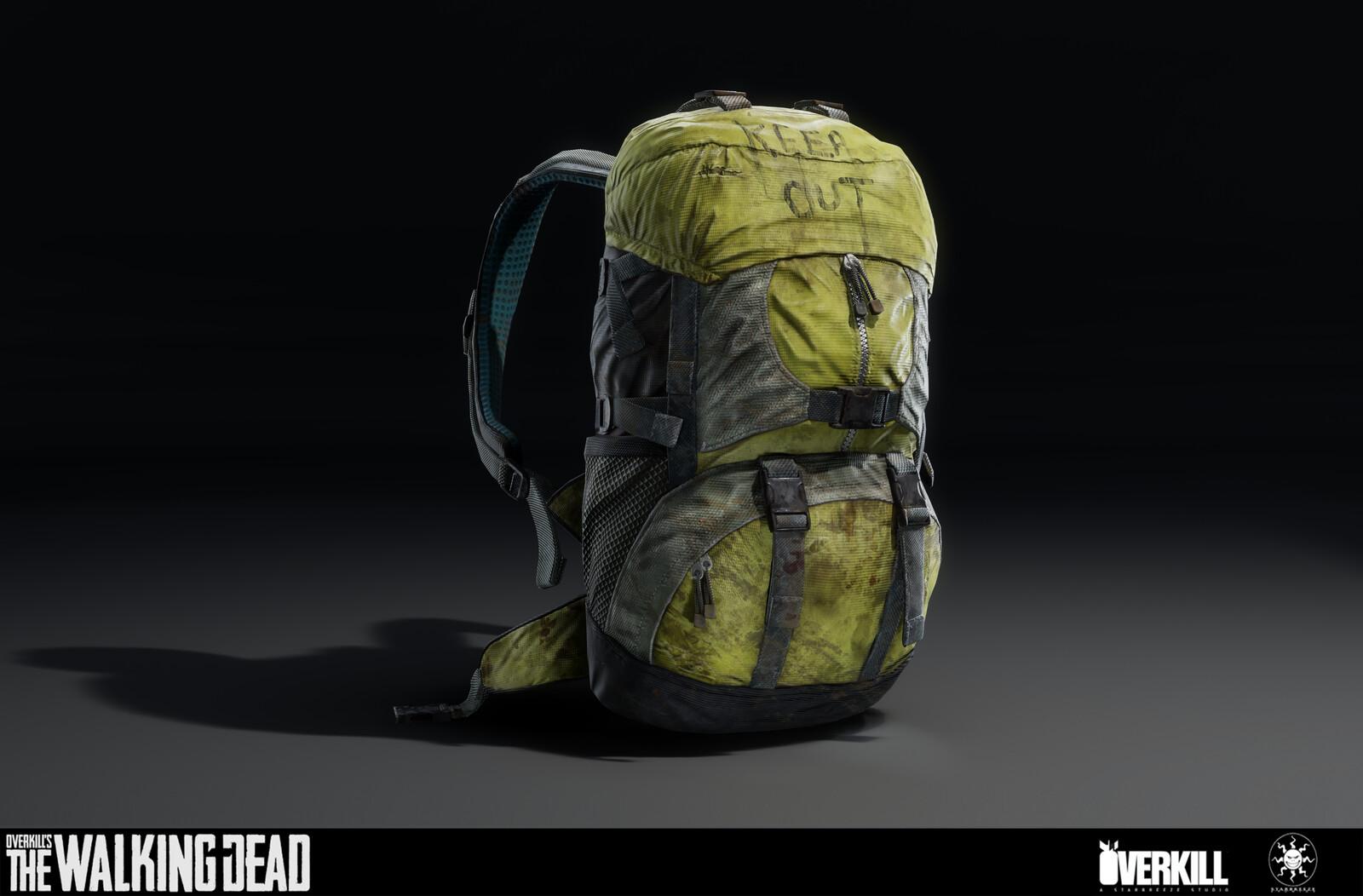 Aidan's Backpack