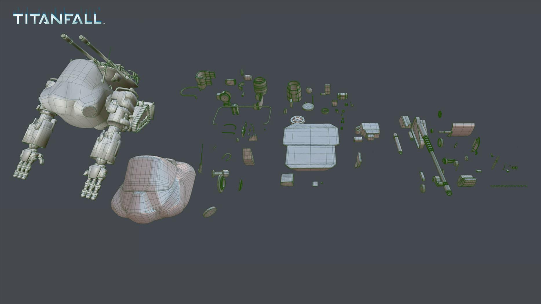 ArtStation - Goliath (Titanfall Titan concept), Rob Cantu