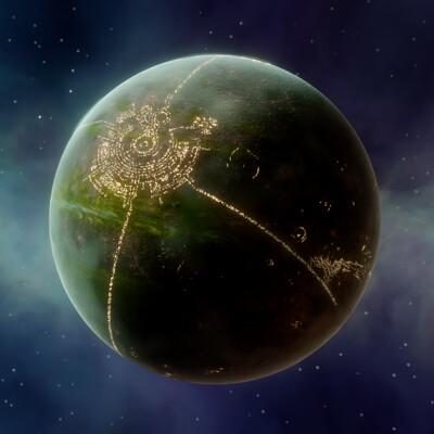 Guillaume bolis planet render thumbnail