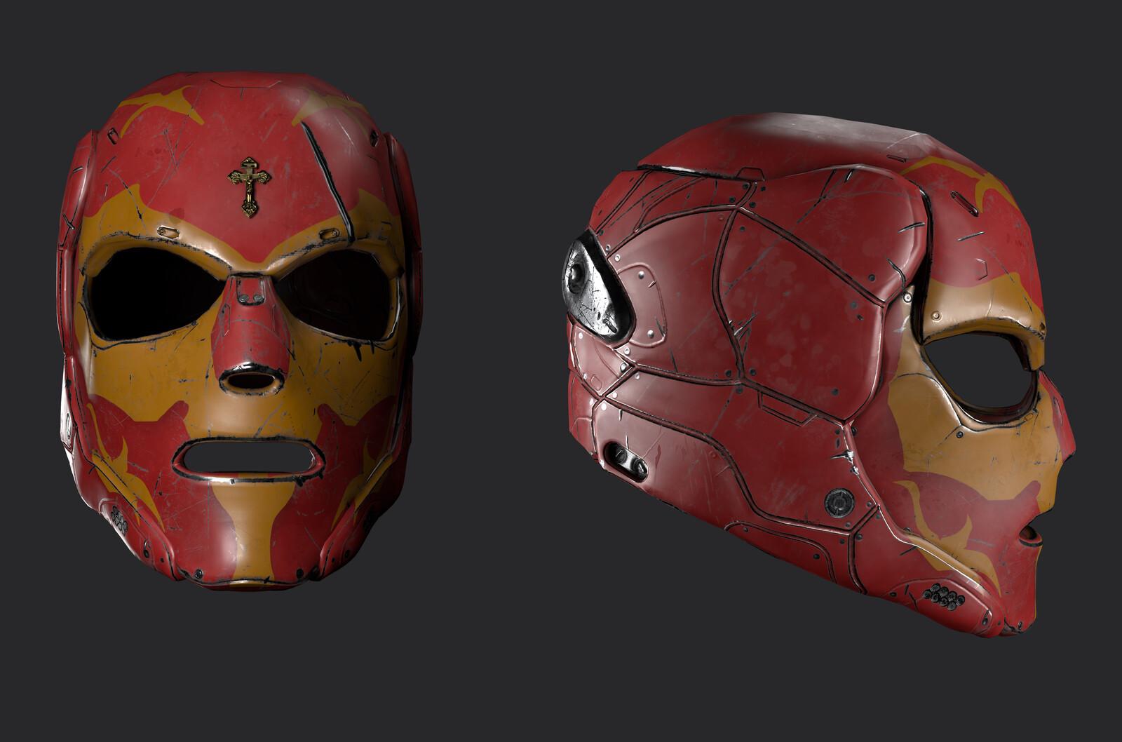 Sci Fi Luchodore helmet