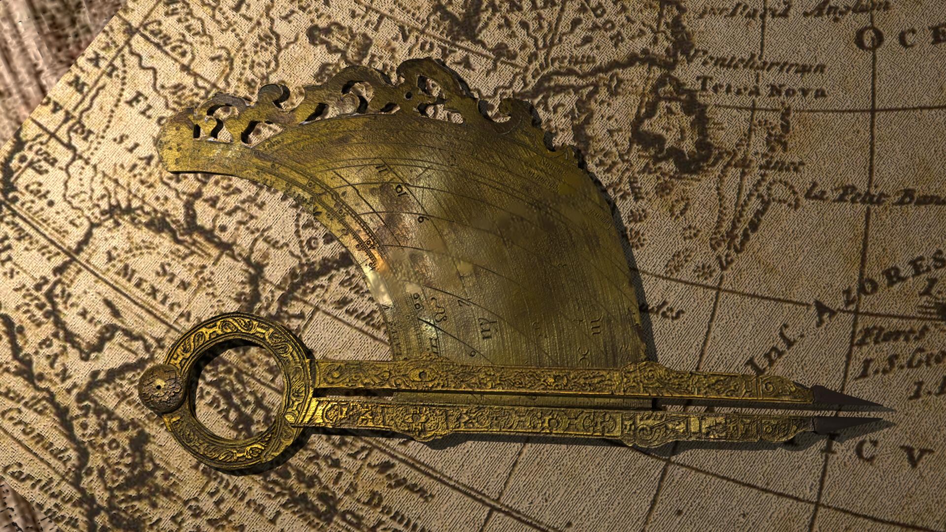 Andres Banos.Andres Banos Old Compass Sxvi